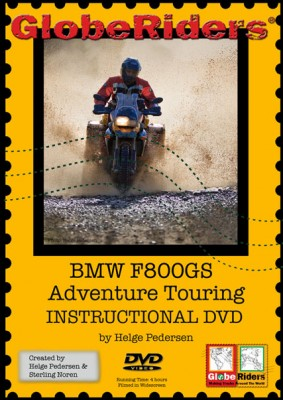 800GS DVD front