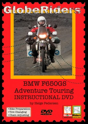 650GS DVD front